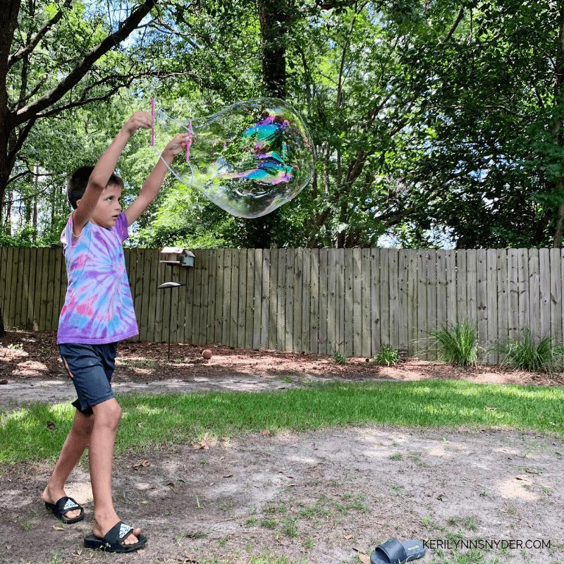 DIY Big Bubbles