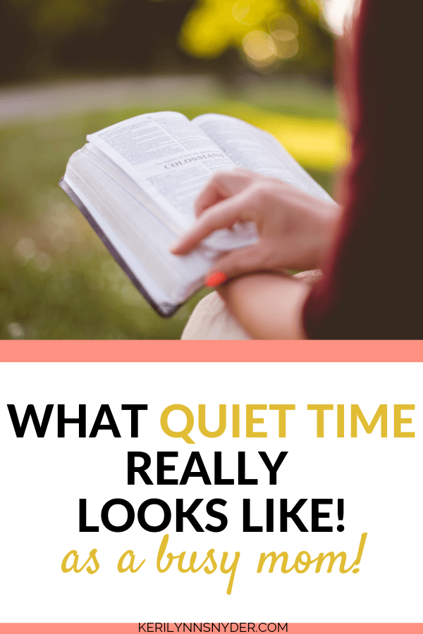 How to find time to read your Bible as a busy mom, devotions for moms