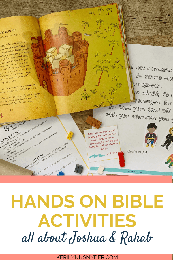 Teaching about Joshua and Rahab? Check out these great activities plus the entire Heroes of the Bible packet.