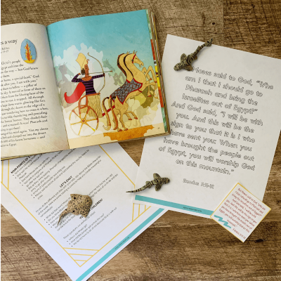 looking for ways to teach your kids about heroes of the Bible? Your kids will love these hands on activities centered on Moses!