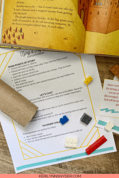 Heroes of the Bible: Joshua and Rahab. This lesson has hands on activities to teach kids.