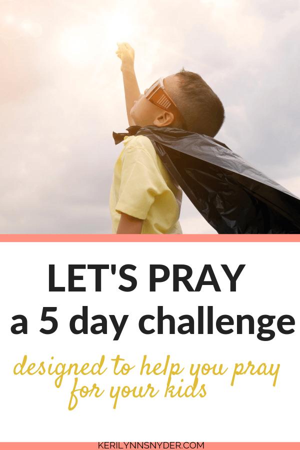 Let's Pray 5 Day Challenge