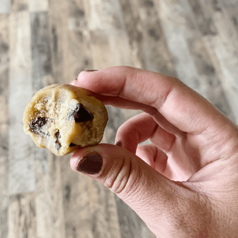 Chocolate Chip Cookie Dough Ball