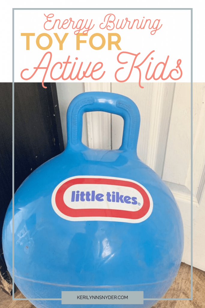 Check out this great toy for active kids.