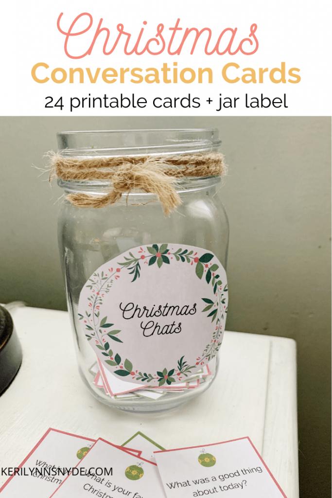 Christmas Conversation Cards