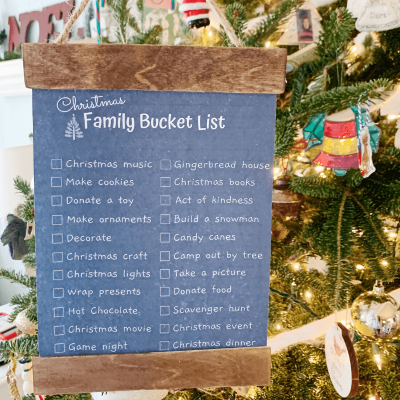 Christmas Family Bucket List