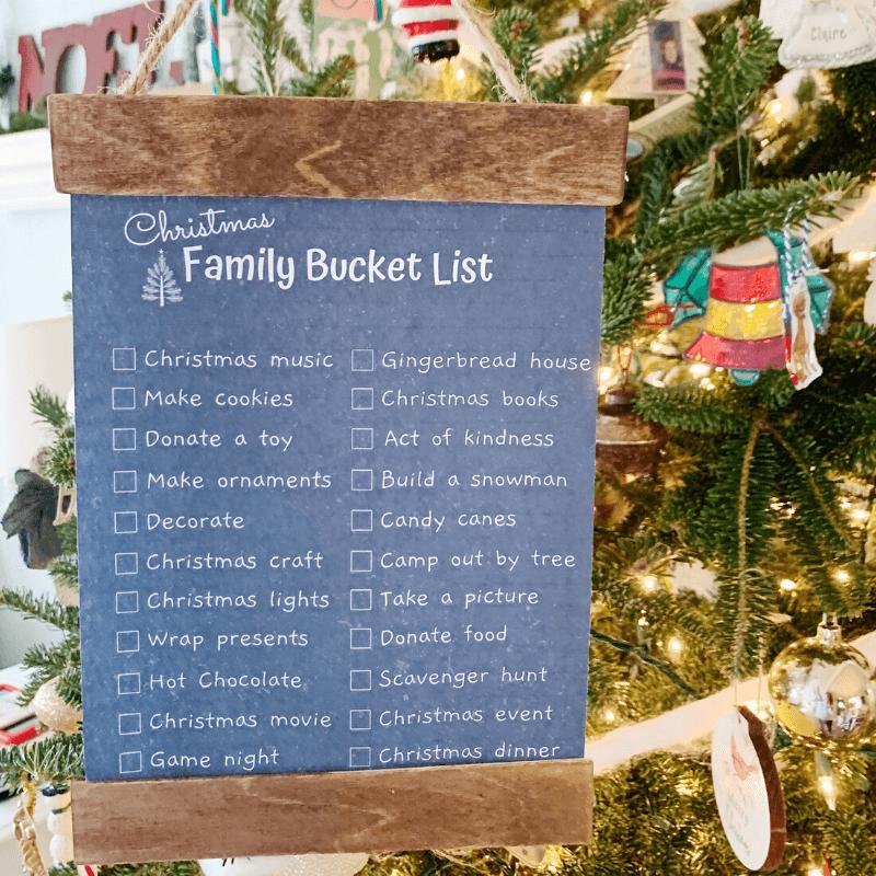 Christmas Family Bucket List