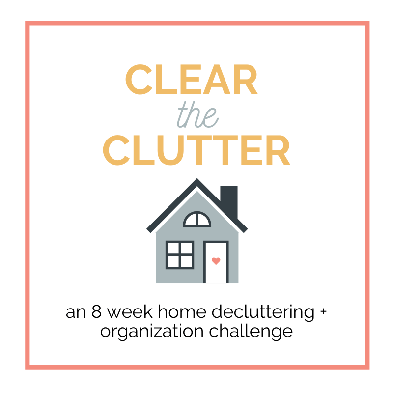 Clear the Clutter Challenge