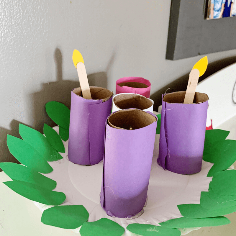 DIY Advent Candles