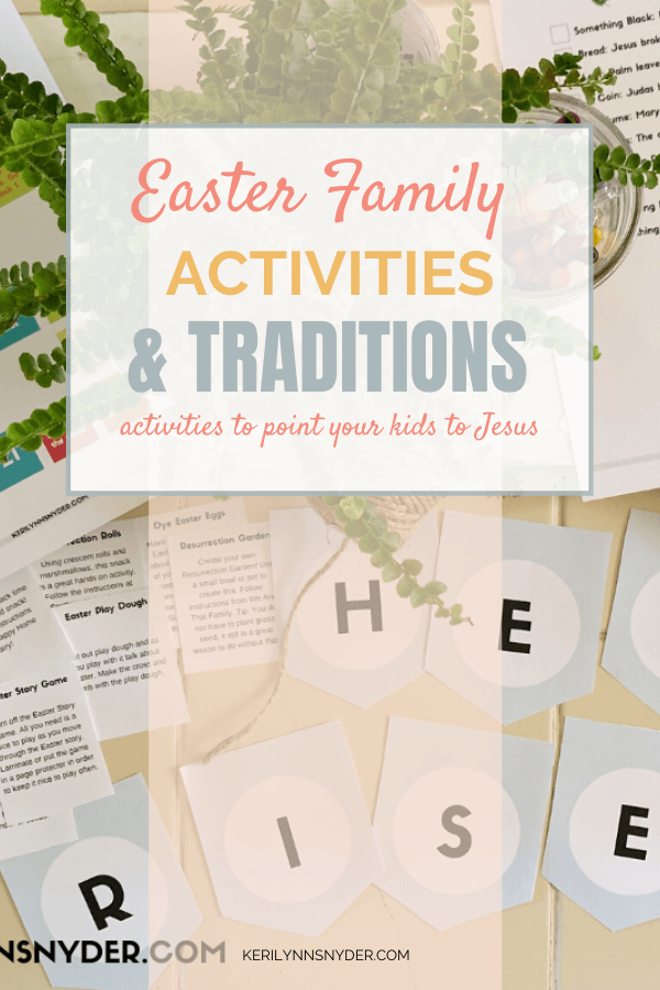 Intentional Easter Family Activities