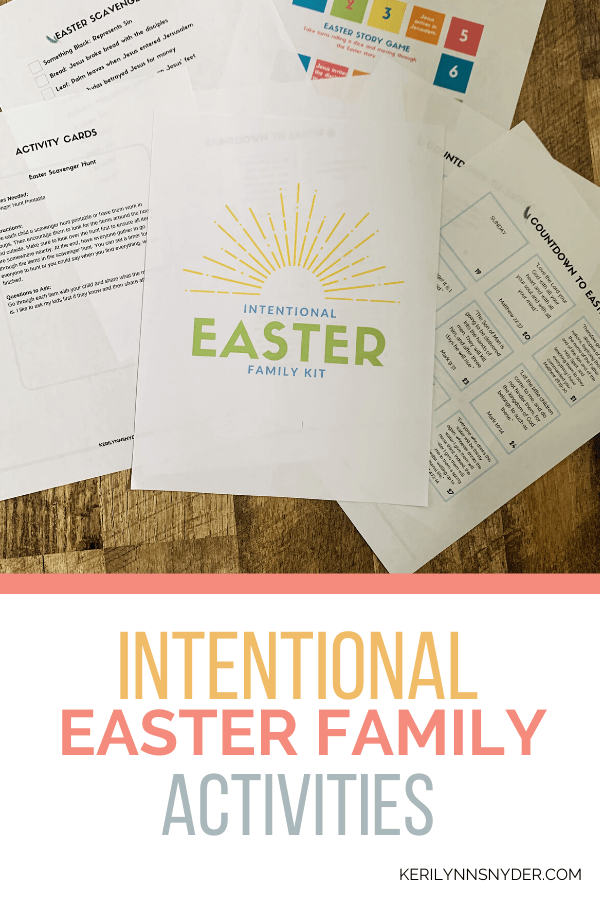 Easter Family Activiites