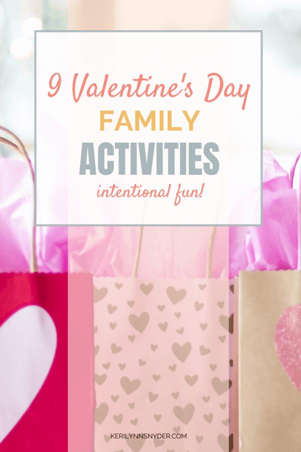 Family Valentine's Day Activities
