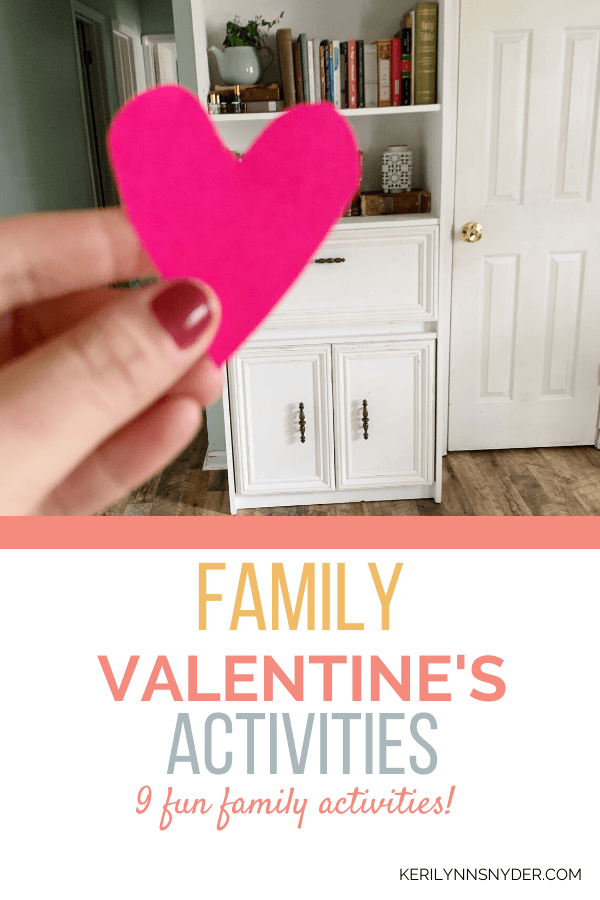 Check out these fun family Valentine's day activities.