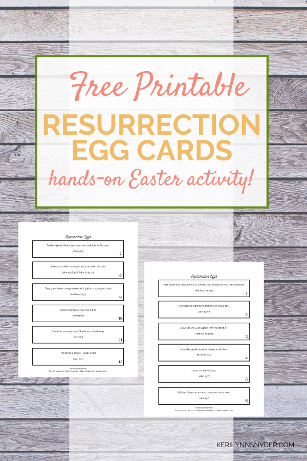 It's just a picture of Resurrection Egg Story Printable intended for preschooler