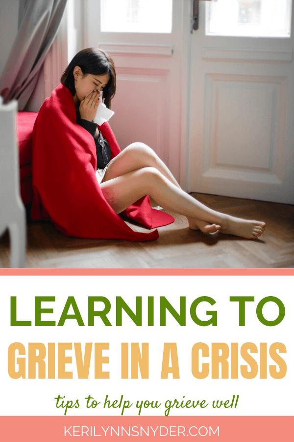 The importance of grieving