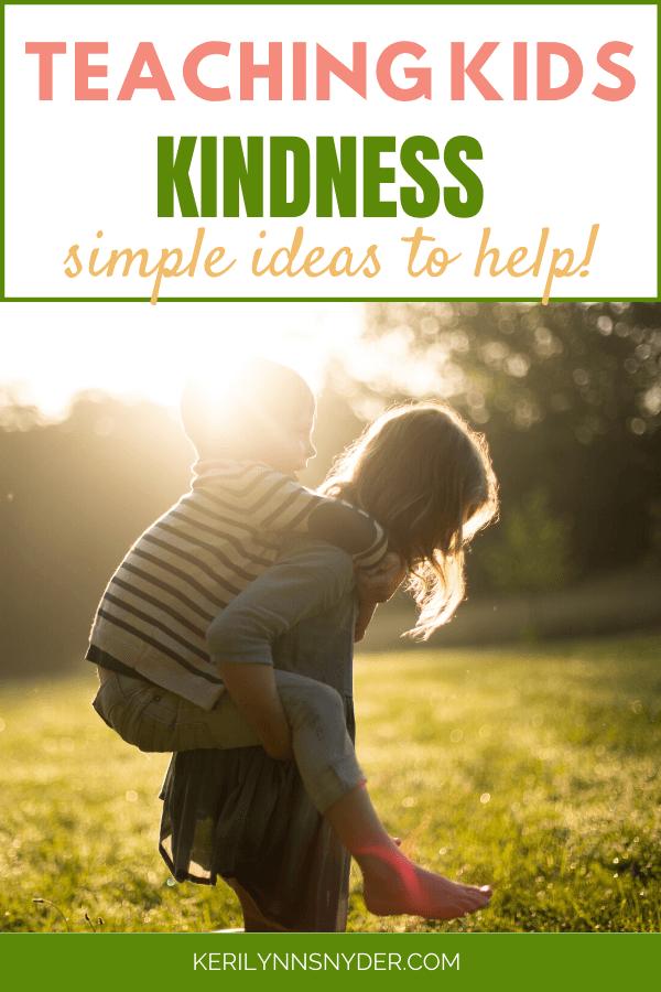 Kindness Bingo for Kids