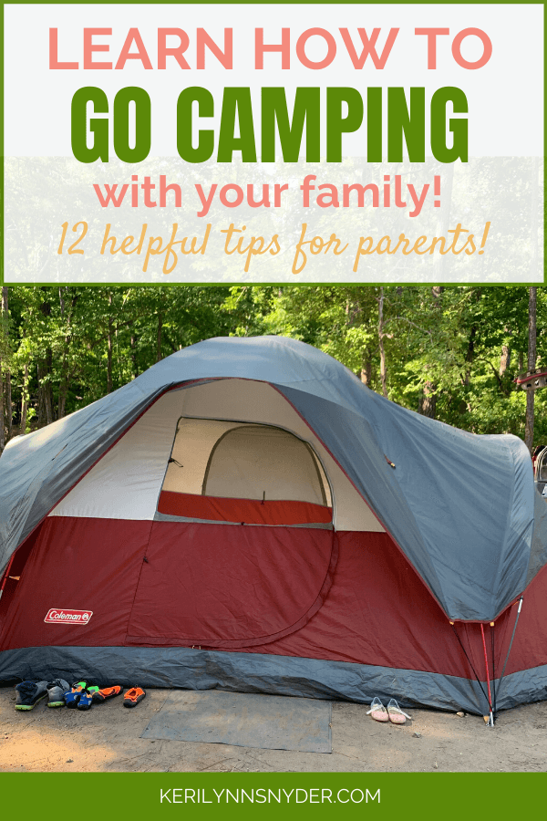12 Tips for Camping with Kids