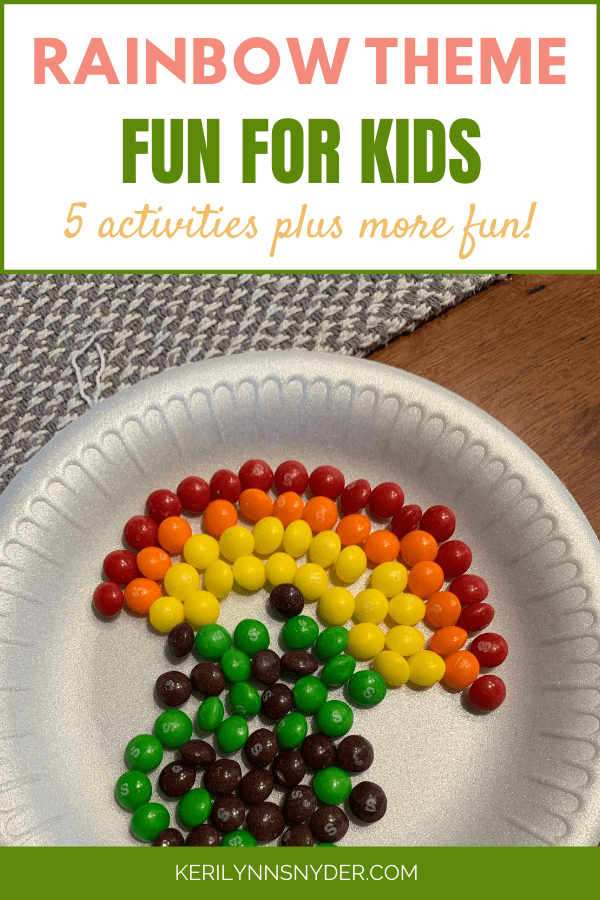 Rainbow Theme Activities for Kids