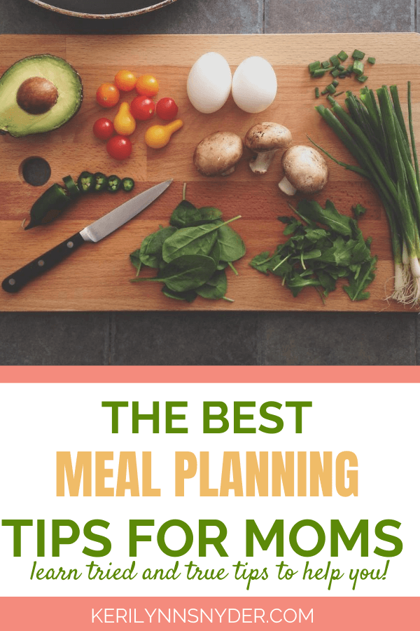 The best meal planning tips for busy families