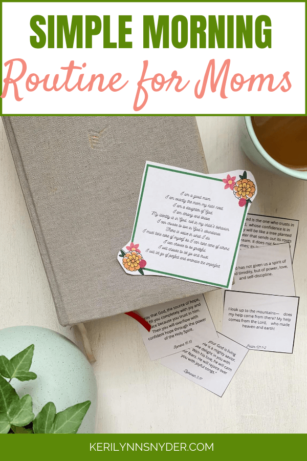 How to have a simple morning routine as a mom. Learn these tips to start your day well.