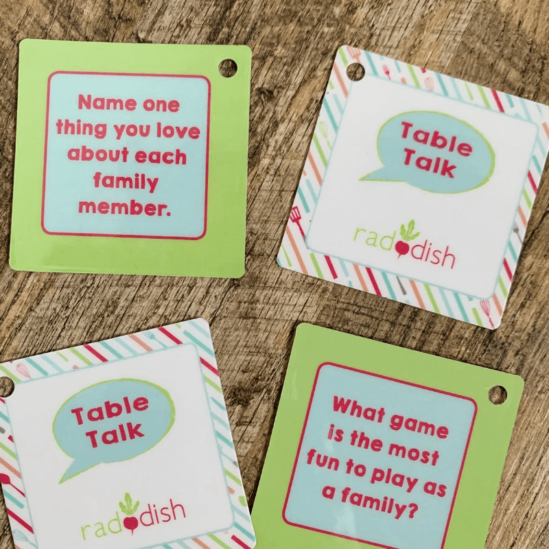 Raddish Kids Conversation Cards