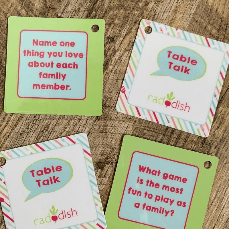 Raddish Kids Conversation Cards