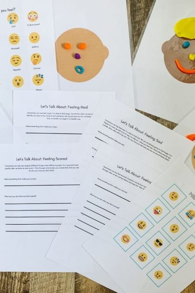 Learn how to teach kids about emotions. Helpful tips plus printable activities.