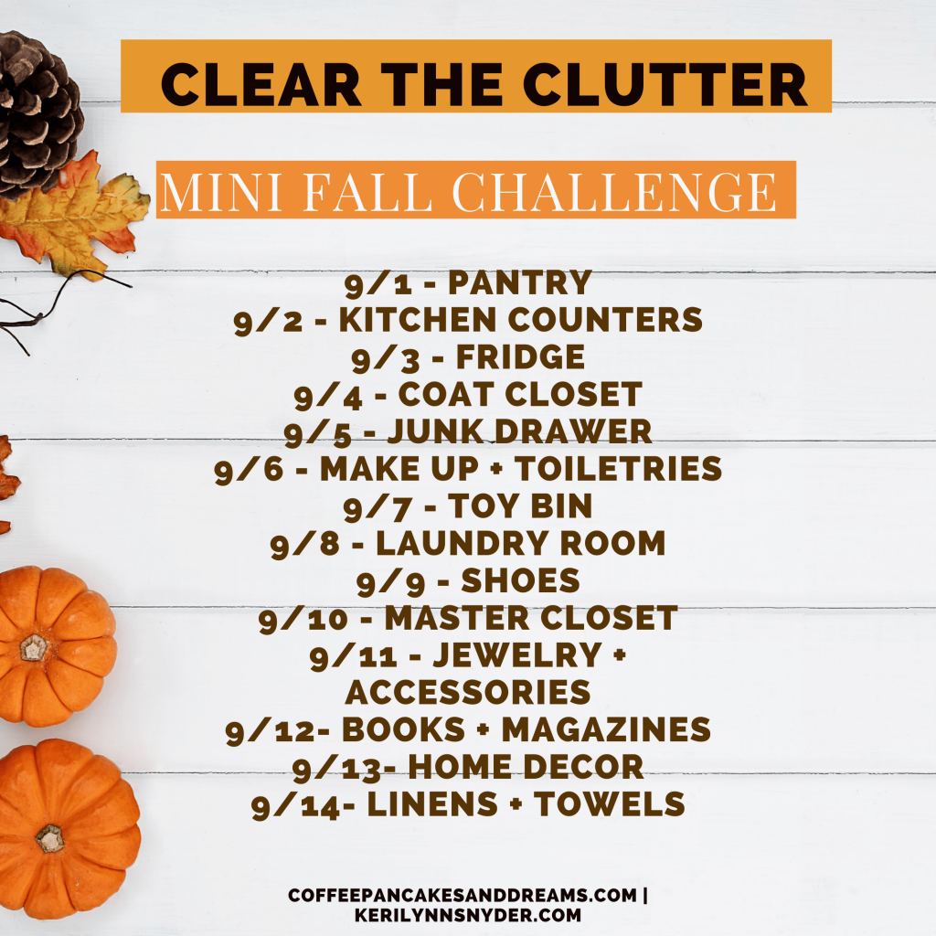 Declutter your home in 14 days with this challenge
