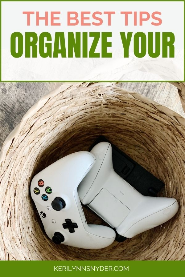 Learn these 5 tips to get organized today!