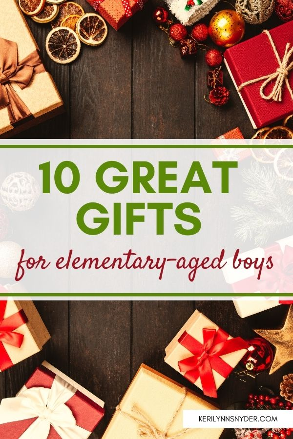 The 10 best gifts for elementary aged boys