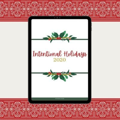 The Intentional Holidays Planner