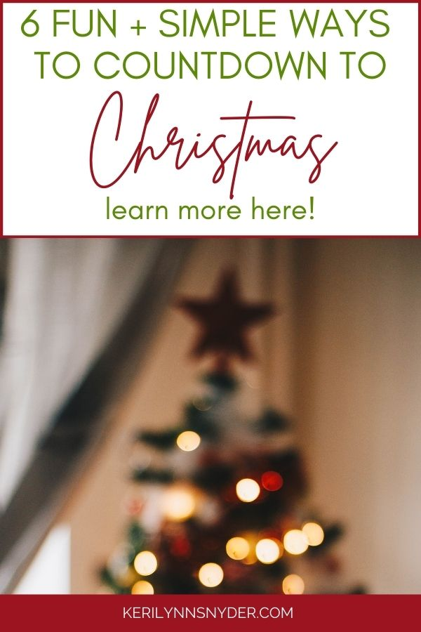 Countdown to Christmas with these fun activities!