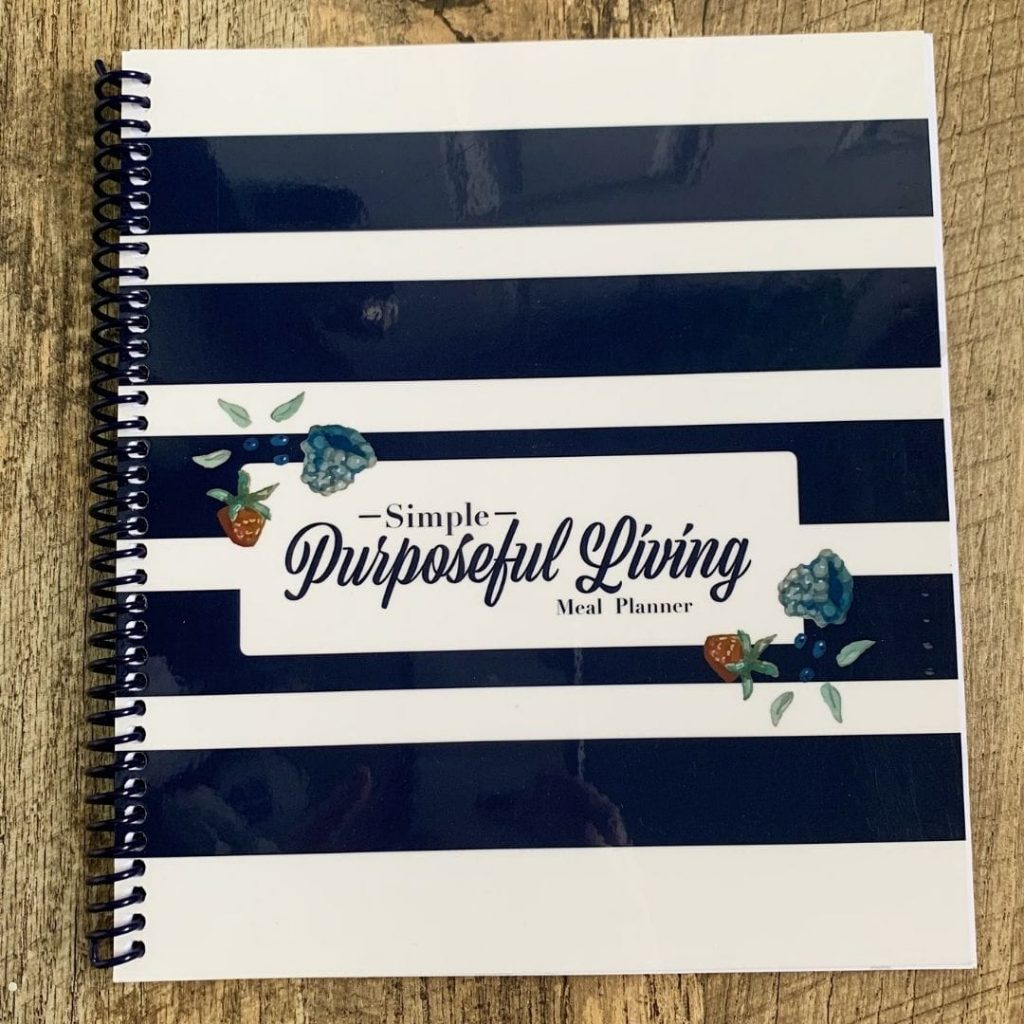 Get the meal planner for your mom! It is a great intentional gift.