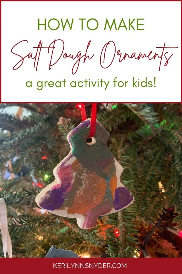 Learn how to make salt dough ornaments with your kids!