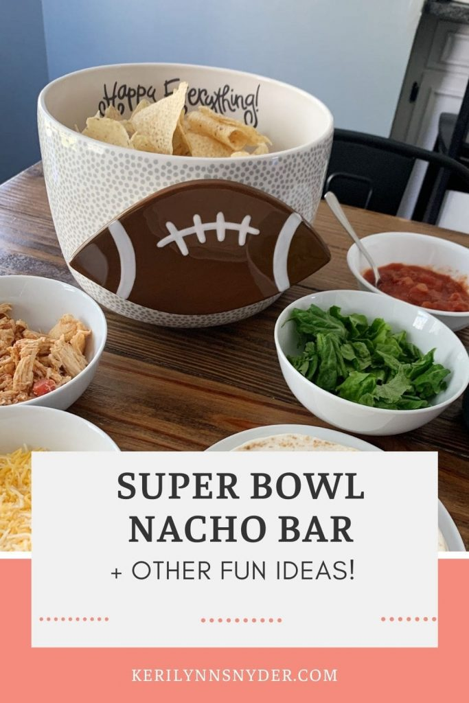 Have fun at home with this fun Super Bowl dinner idea! Plus some other tips!