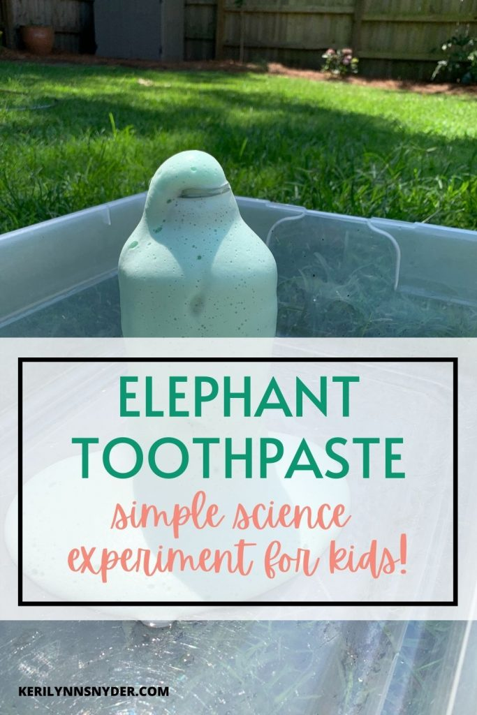 Learn how to do this simple science experiment at home with your kids!