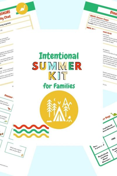 Intentional Summer Kit for families