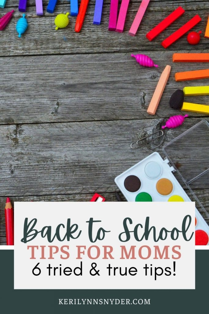 Prepare for the school year with this printable guide! This will help you get ready for an intentional school year!