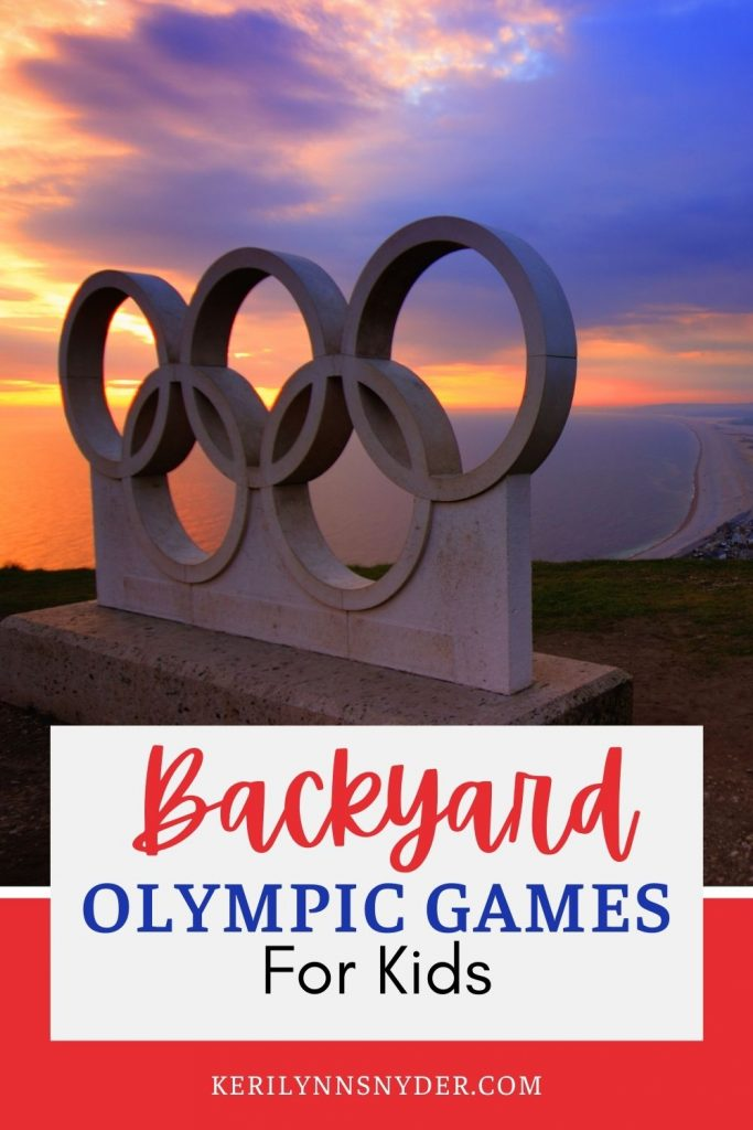 Have backyard Olympic games as a family! Check out these simple game ideas.