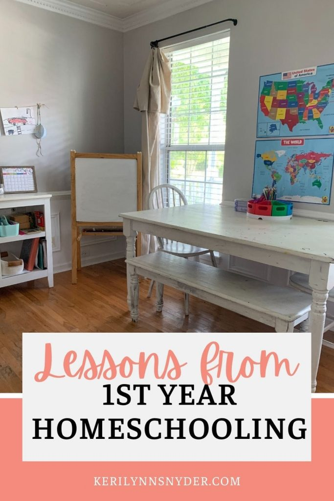 The best tips from my first year homeschooling my kids.