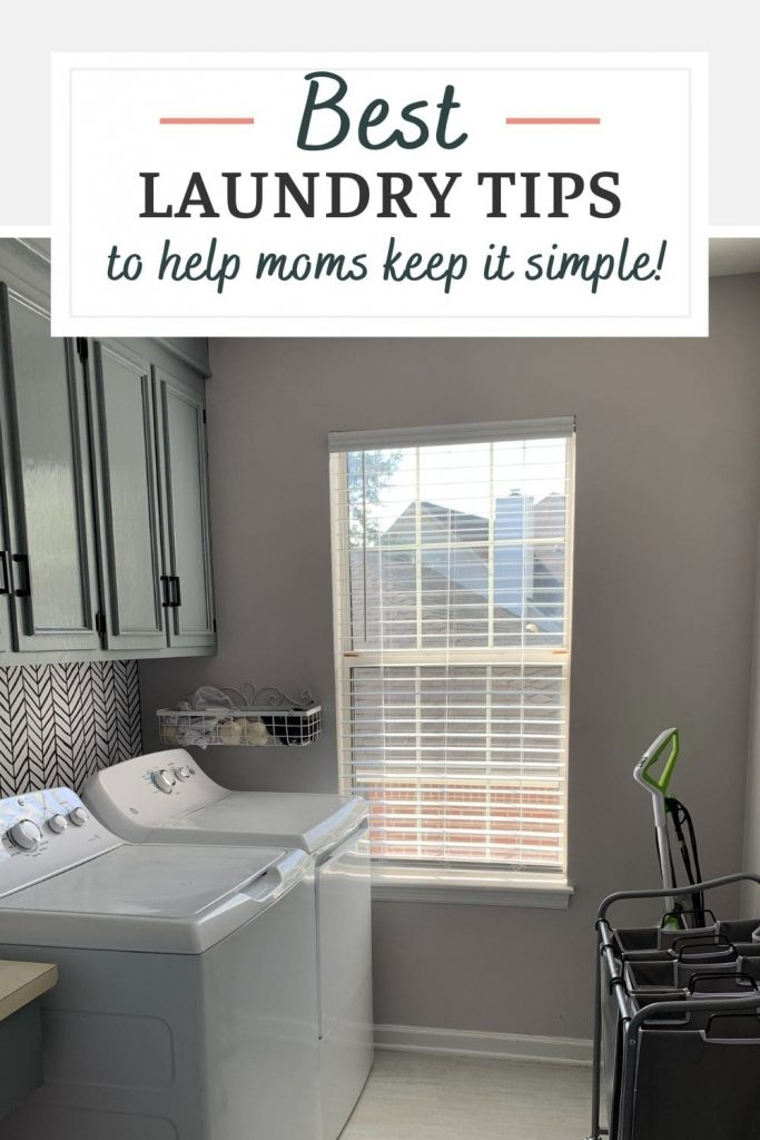 Keep laundry simplified with these great tips!