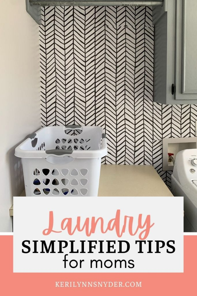 Learn how to simplify laundry and stop it from overwhelming you!