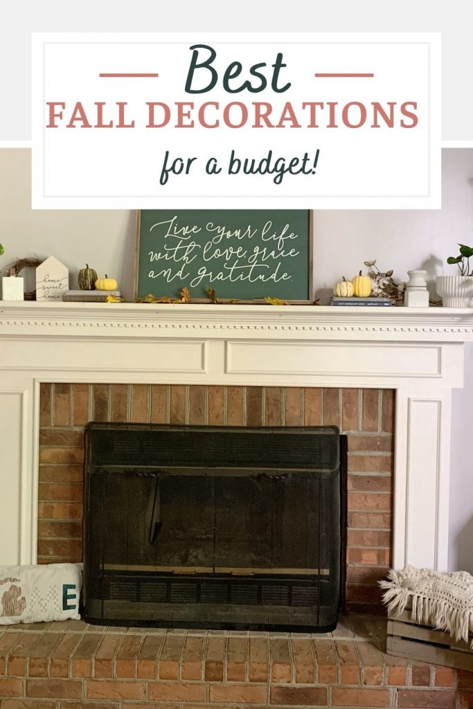 Check out these budget-friendly fall decorations