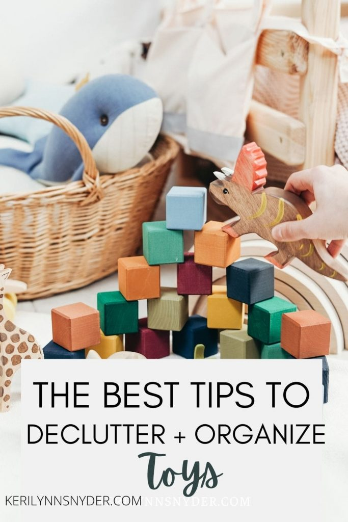 Learn how to declutter and organize your toys with simple steps!